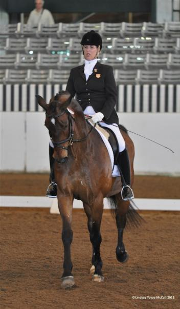 Jennifer Baker (USA) Grade IV and Rondo Del Rey, owned by Kathy Jones