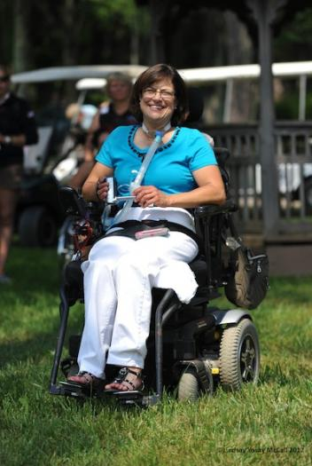Donna Ponessa at 2012 USEF Paralympic Selection Trials/ National Championships (Photo: Lindsay Y McCall)