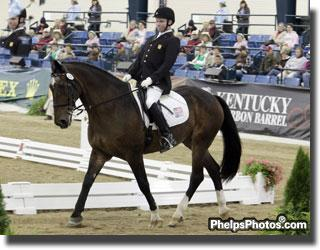 Jonathan Wentz rode as the youngest member of the four member USA Team at the 2010 Alltech/FEI World Equestrian Games piloting NTEC Richter Scale, a Shire Cross owned by Kai Handt, to an 11th place finish in the WEG Freestyle.