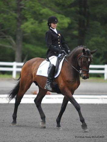 Rebecca Hart and Lord Ludger (Photo: Lindsay Y McCall)