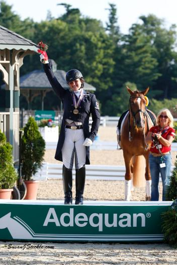 Bronze Medalist Tanya Strasser Shostak, FEI Young Rider Freestyle (Photo: SusanJStickle.com)
