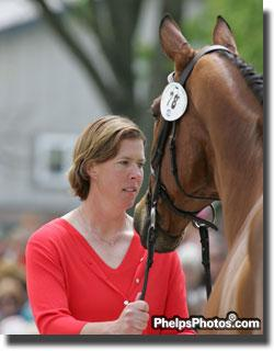 Amy Tryon and Poggio II in 2006