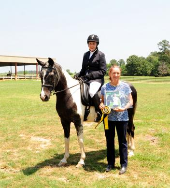 Alma Perkins became the 100th member of The Dressage Foundation's Century Club on May 5, 2012