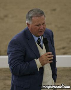 Axel Steiner - USA, FEI O Judge and trainer