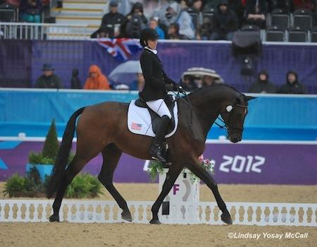 Rebecca Hart (USA) and Lord Ludger (Photo: Lindsay McCall)