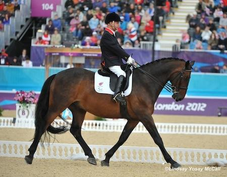 Lee Pearson (GBR) and Gentleman (Photo: Lindsay McCall)