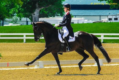 Caroline Roffman and Her Highness O. (Photo courtesy of Al Guden)