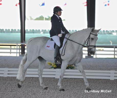 Grade Ia Jody Schloss (CAN) and Inspector Rebus (Photo: (C) Lindsay McCall)