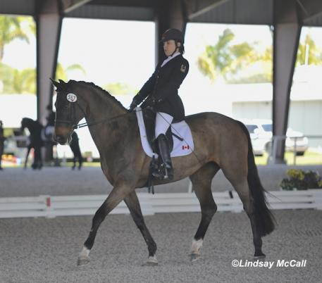 Ashley Gowanlock (CAN) and Ferdonia 2 (Photo: (C) Lindsay McCall)