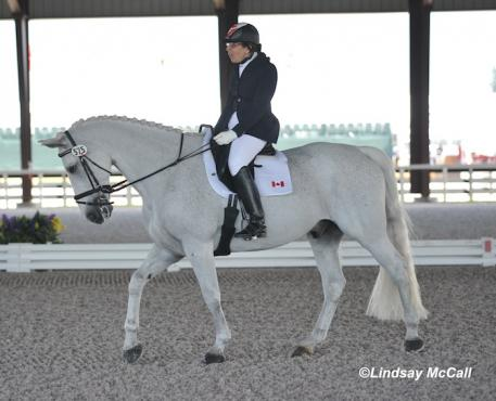Jody Schloss and Inspector Rebus (CAN) (Photo: Lindsay McCall)
