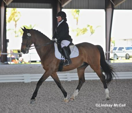 Eleanor Brimmer and Carino H (USA) (Photo: Lindsay McCall)