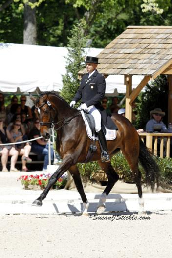2012 Grand Prix Dressage National Champions Steffen Peters and Legolas 92 (Photo: SusanJStickle.com)