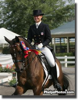 Devon Kane 2007 North American Young Rider Champion on Douwe has gone on to become a professional and her Diamante Farm, Wellington, was host to Marlena Kurz (16 – USDF Dressage Seat Medal Final Winner) for the Emerging Dressage Athlete's Program 2011.
