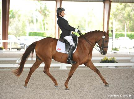 Lauren Barwick and Off to Paris Photo Credit: Lindsay McCall, United States Para-Equestrian Association