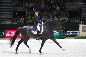 Tina Konyot and Calecto V (MA Brakenridge/PSdressage.com)