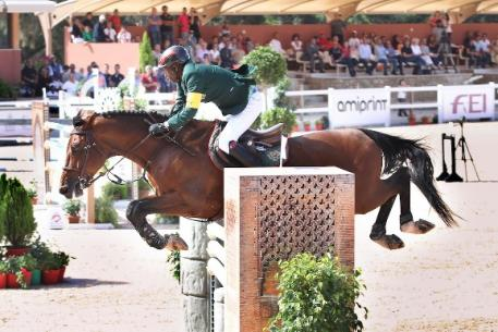 Morocco's Abdelkabir Quaddar won the FEI World Cup™ Jumping 2013/2014 Arab League and now heads for the Longines FEI World Cup™ Jumping Final in Lyon, France next month. (Photo: FEI/Morocco NF)