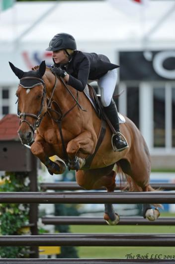 Abigail McArdle and Cosma 20. Photo By: Parker/Russell - The Book LLC.