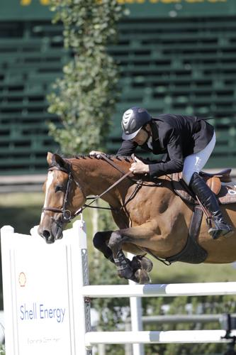 Adam Prudent and Vasco. Photo © Spruce Meadows Media Services.