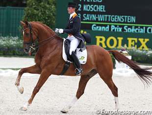 Adelinde Cornelissen and Jerich Parzival (Photo: Eurodressage.com)