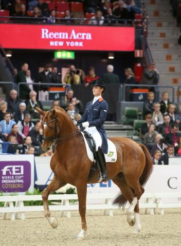 Adelinde Cornelissen and Jerich Parzival are back at the top of the FEI World Dressage Rankings. (Photo: Roland Thunholm/FEI)