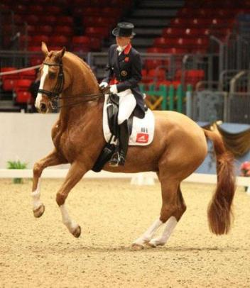 """Bechtolsheimer said of Mistral Hojris, """"he was awesome today, and we had no mistakes"""" (Photo: Caroline Finch)"""