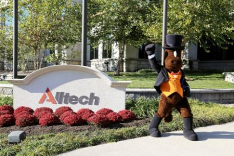 Alltech is proud to introduce Tucky, the Alltech National Horse Show mascot who was named by Cherie Dennis, age 11, of Paris, KY.