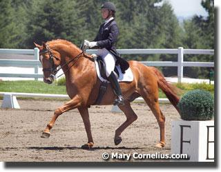 Adrienne Lyle and Whidbey (Photo: Mary Cornelius)