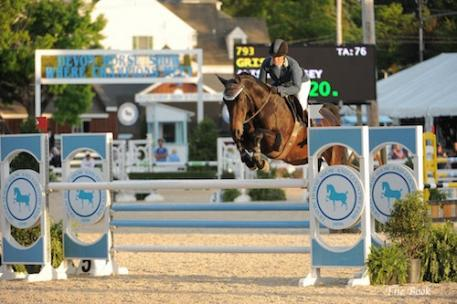 Alyssa Kinsey and Grisset. Photo © The Book LLC.
