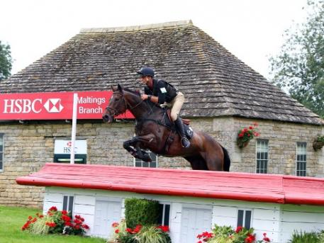 Andrew Nicholson, pictured here at the Land Rover Burghley Horse Trials 2012 with Calico Joe, is all set for this year's edition (5-8 September), which will be the last leg of the HSBC FEI Classics™ 2012/2013 series. (Photo: Kit Houghton/FEI).