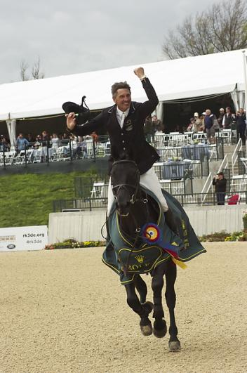 Andrew Nicholson of New Zealand won the 2013 Rolex Kentucky Three-Day Event, Presented by Land Rover