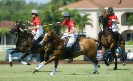 Audi's Grant Ganzi, Lucas Lalor and Mike Azzaro teaming up as a pack against Piaget. Photo by Scott Fisher