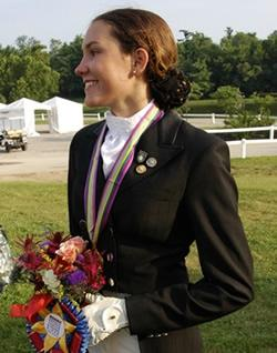 Ayden Uhlir is the 2012 FOC champion and NAJYRC Junior Individual Gold