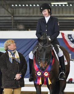 Grade II Winner Lauren Barwick (CAN) and Ferdonia 2 Photo: ©2011 Lindsay Y McCall for the USPEA