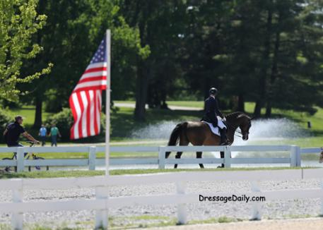 Born in Great Britian, Catherine Bateson-Chandler an American citizen represented the USA at the 2010 Alltech/FEI World Equestrian Games knows the Kentucky Horse Park well. Photo: Mary Phelps