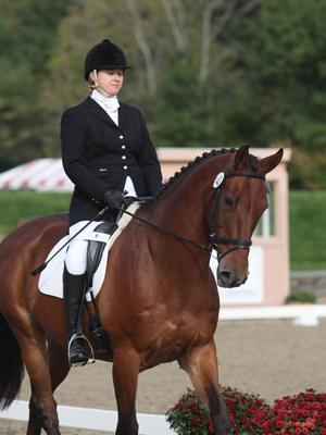 Charlotte Bathalon, a NAYRC Gold Medal Winner in eventing resumed riding after severe spinal injuries from an ATV accident.