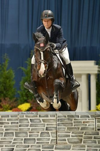 Beezie Madden and Coral Reef Via Volo. Photo © Shawn McMillen Photography.