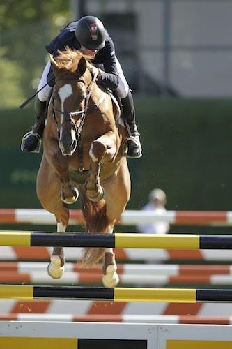 Ben Asselin is one of the up-and-coming stars of the Canadian show jumping team. Photo ©Spruce Meadows Media Services.