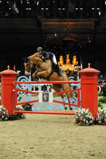 Ben Maher on Aristo Z, winners of the Earls Court Christmas Cracker at Olympia in 2012. Photo credit: Kit Houghton.