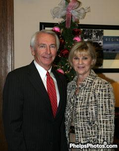The Governor of Kentucky and First Lady, Steve and Jane Beshear