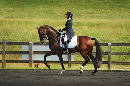 Bethany Peslar and Donadieu. (Photo: courtesy of Alicia Frese)