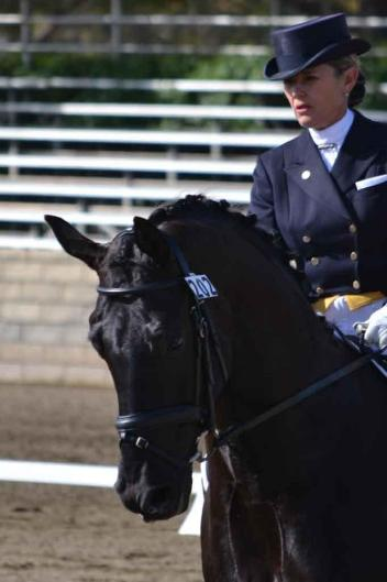 California's best dressage horses and riders will compete this week in Rancho Murieta at the CDS Championships.  (Photo: Jennifer M. Keeler)