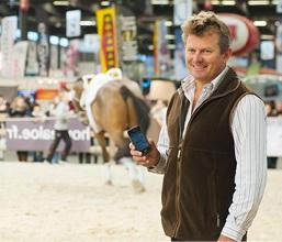 Athletes like Australia's Boyd Exell (pictured), the world and four-time FEI World Cup™ Driving champion and athlete representative on the FEI Driving Committee, will be using the newly-launched FEI SportApp to plan their busy competition schedules. (c) Germain Arias-Schreiber/FEI