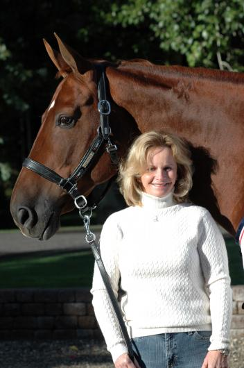 Debbie McDonald will headline the March ShopTalk at ShowChic dressage boutique in Wellington, from 6:00pm-7:30pm on March 12th. (Photo: courtesy of Premier Equestrian)