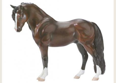 Sybil's Bouncer was immortalized as a Breyer model (#707).