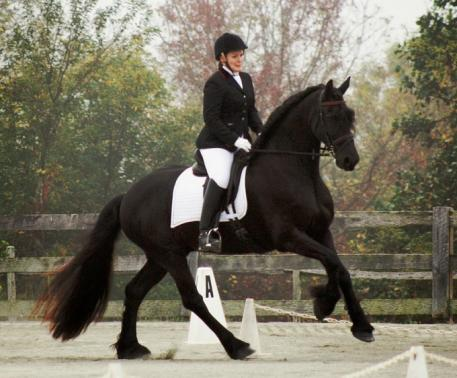 Region 1 - Brianne Reynolds (MD) and her horse, Hershey