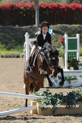 Brooke Baldwin has a great experience in the Outreach classes. Photo: Flying Horse Photography