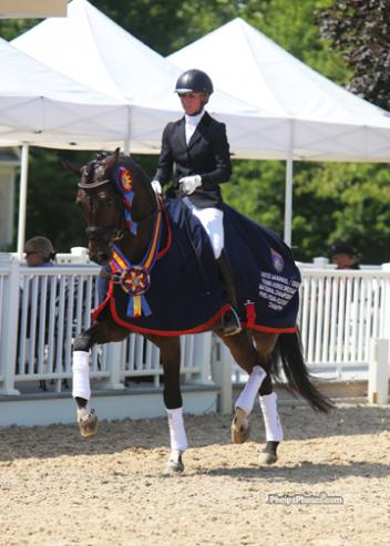 Markel/USEF 5-Year-Old National Champions Nadine Buberl Photo: Mary Phelps