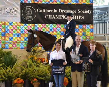 California's best dressage horses and riders, like High Performance Grand Prix  rider Kathleen Raine, will be in attendance this week in Rancho Murieta at the CDS  Championships. Photo: Jennifer M. Keeler