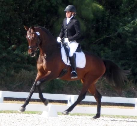 Heidi Degele and Sonata. (Photo courtesy of Heidi Degele)