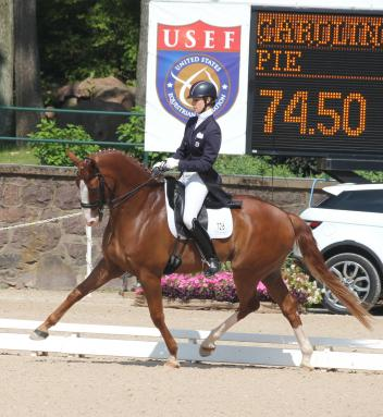 Caroline Roffman and Pie - Intermediare-I National Championship Winners